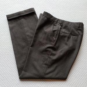 Brooks Brothers Mens 32x30 Brown Wool Pants